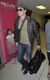 Actor Kellan Lutz at LAX airport Stock Images