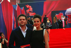 Actor Konstantin Kryukov at Moscow Film Festival Stock Images