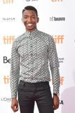 Actor Mamoudou Athie at the `Unicorn Store` premiere at 2017 Toronto International Film Festival Royalty Free Stock Photos