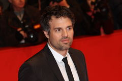 Actor Mark Ruffalo. BERLIN - FEBRUARY 13: Actor Mark Ruffalo attends the 'Shutter Island' Premiere during day three of the 60th Berlin Film Festival at the Royalty Free Stock Photo
