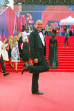 Actor Maxim Averin en el festival de cine de Moscú Fotografía de archivo libre de regalías