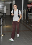Actor Michael Cera is seen at LAX Stock Images