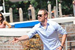 Actor Michael Fassbender Royalty Free Stock Images