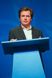 Actor Michael J. Fox delivers an address Royalty Free Stock Photo