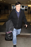 Actor Nathan Lane is seen at LAX airport Stock Photo