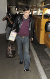 Actor Olivier Martinez is seen at LAX airport, CA Stock Photos