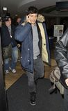 Actor Orlando Bloom is seen at LAX. Ja Royalty Free Stock Images