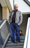Actor Paul Giamatti at LAX airport Stock Image