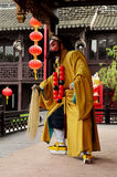 Actor Performing on Stage, Zhouzhuang Stock Image