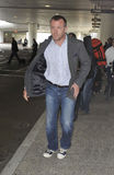 Actor/producer Guy Richie at LAX airport,CA USA. LOS ANGELES-APRIL 15: Actor/producer Guy Richie ex husband of singer Madonna at LAX airport. April 15 in Los Stock Photos