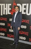 Ralph Macchio. Actor Ralph Macchio arrives on the red carpet for the New York premiere of HBO`s multi-part drama, `The Deuce.`  The dramatic series follows Stock Photos