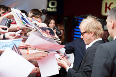 Actor Rhys Ifans. MOSCOW, RUSSIA, JUNE, 15: Actor Rhys Ifans. Premiere of the movie The Amazing Spider-Man, June,15, 2012 at OCTOBER CINEMA in Moscow, Russia Stock Image