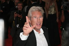 Actor Richard Gere. VENICE - SEPT 3: Actor Richard Gere attends The Hunting Party premiere in Venice during day 6 of the 64th Venice Film Festival on September 3 Royalty Free Stock Photo