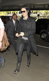 Actor Russel Brand at LAX airport Stock Images