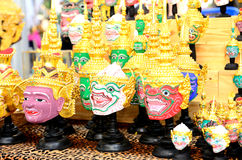 Actor's mask of Thai Royalty Free Stock Photo