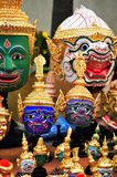 Actor's mask of Thai  dance Royalty Free Stock Photography