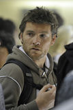Actor Sam Worthington is seen at LAX Stock Photography