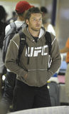 Actor Sam Worthington is seen at LAX. LOS ANGELES - AUGUST 15TH: Actor Sam Worthington is seen at LAX . August 15th 2010 in Los Angeles, California Royalty Free Stock Photography