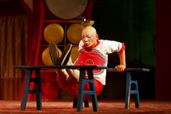 Actor of the Sichuan Opera Troupe Stock Photos