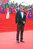 Actor, singer Alexey Vorobyov at Moscow Film Festival Stock Images