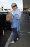Actor/singer Dwight Yoakham at LAX airport Stock Photo