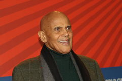 Actor and singer Harry Belafonte Stock Photography
