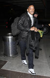 Actor Will Smith at LAX airport Stock Photography