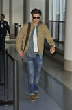 Actor Zac Efron is seen at LAX Stock Photography