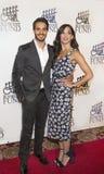 Actoren Ektor Rivera en Ana Villafane Royalty-vrije Stock Afbeelding
