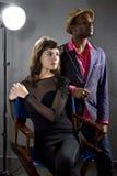 Actores de moda Imagen de archivo