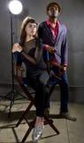 Actores de moda Fotos de archivo libres de regalías