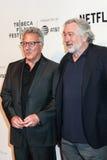 Actores Dustin Hoffman y Robert De Niro Fotografía de archivo libre de regalías