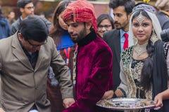 Actores principales de la era 2017 de Mughal en el sistema Imagenes de archivo