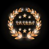 Actors awards design Royalty Free Stock Photos
