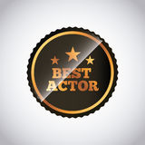 Actors awards design Stock Photo