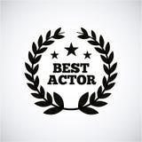 Actors awards design Stock Images