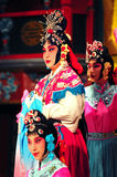 Actors of the Beijing Opera Troupe Royalty Free Stock Image