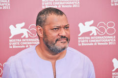 Actors Laurence Fishburne Stock Photo