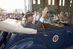 Actors portraying President Franklin D. Roosevelt Stock Photo