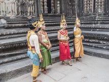 Impressive Angor Wat, Cambodia stock image