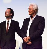 Richard Gere and Walton Goggins of `Three Christs`  premiere for Toronto international film festival 2017. Actors Richard Gere and Walton Goggins of `Three Stock Photo