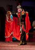Actors of the Sichuan Opera Troup Stock Photos