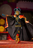Actors of the Sichuan Opera Troupe Stock Photo
