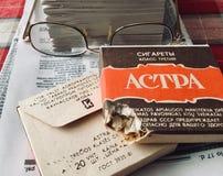 Actra香烟 库存照片