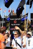 ACTRA Toronto Gewerkschaftsmitglieder Stockbild