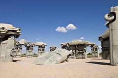 Actraction carhenge, Небраски США Стоковые Изображения