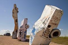 Actraction of carhenge,nebraska usa Royalty Free Stock Photo