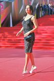 Actress Alika Smekhova at Moscow Film Festival Royalty Free Stock Photography