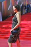 Actress Alika Smekhova at Moscow Film Festival Royalty Free Stock Photos