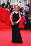 Actress Amalia Amalia at Moscow Film Festival Stock Images